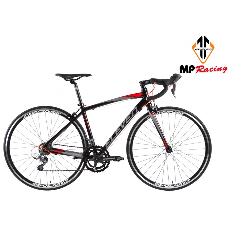 ELEVEN FREQUENCY 100 negro-rojo MPRACING
