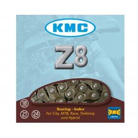 CADENA KMC Z8 Marrón 114 PASOS 6/7/8V