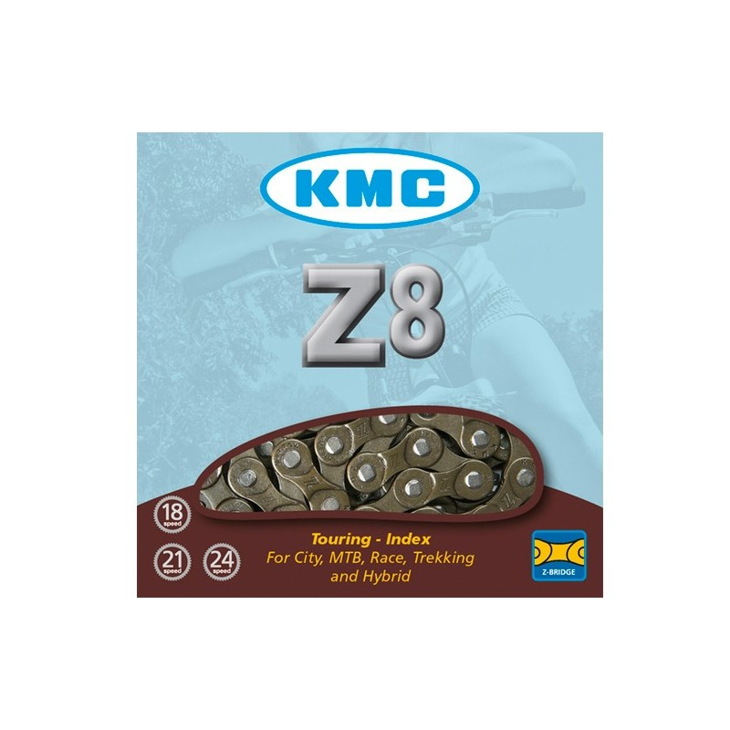 CADENA KMC Z8 Marrón 114...