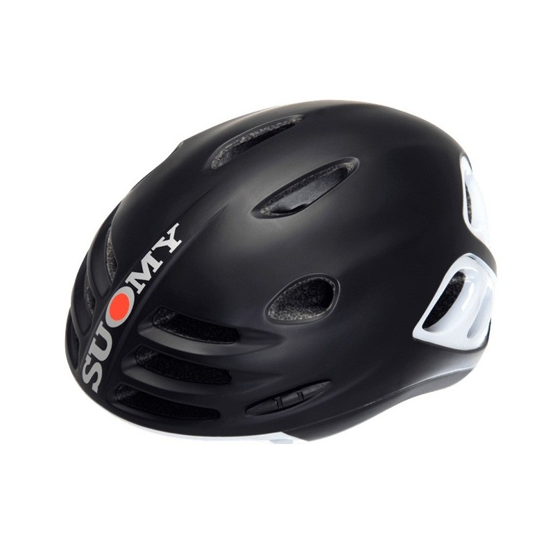CASCO SUOMY SFERA NEGRO/BLANCO
