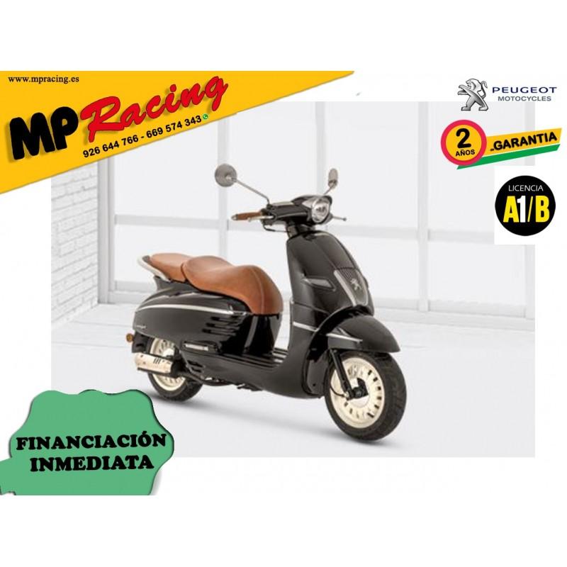 MOTO PEUGEOT DJANGO 50CC 2020 NEGRA MP