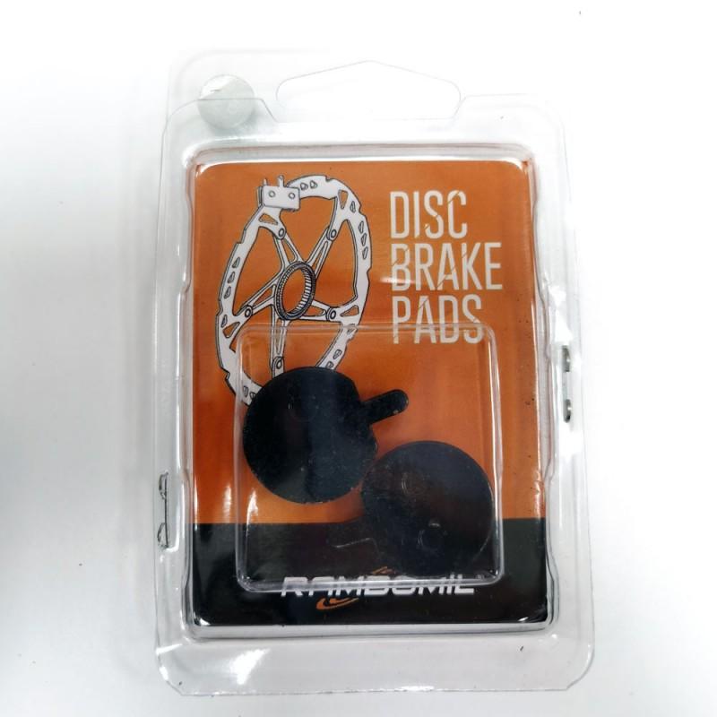 Pastillas de freno con tetón (dos agujeros) para patinete eléctrico - Pack de 2 pastillas